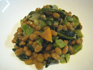 おみ漬の食べ方 おみ漬納豆