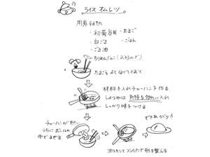 和風ライスオムレツのレシピは山形県のY.Gさん主婦の方から頂きました