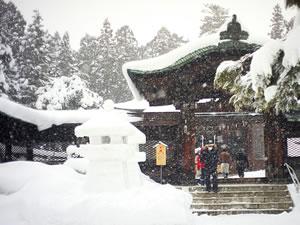 冬(1月~3月)の米沢市